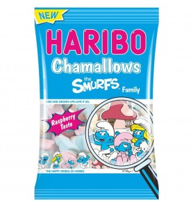 Chamallows Schtroumpds Haribo