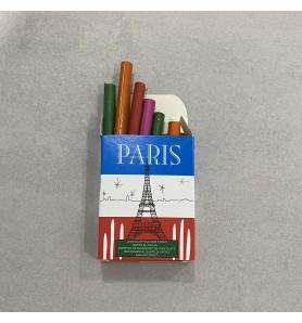 Crayons en chocolat