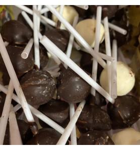 Sucette Nougat Chocolat x1